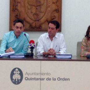 Cs Quintanar de la Orden celebra la ejecución de su moción para la construcción del nuevo colector de aguas residuales del polideportivo municipal