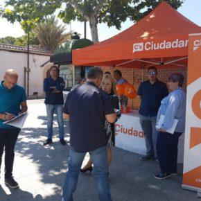 Cs Talavera de la Reina, Cs Bargas y Cs Yuncos recogen a pie de calle propuestas de los vecinos en las carpas ciudadanas