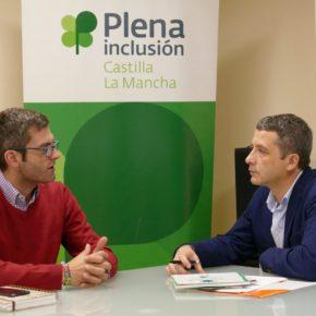 Plena Inclusión C-LM traslada sus proyectos, iniciativas e inquietudes al portavoz municipal de Ciudadanos en Toledo