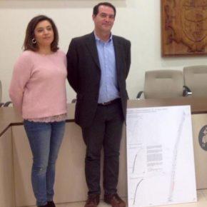 """Begoña Molina: """"La remodelación de la calle Grande, como principal espacio para comercio local, es un proyecto esencial para la dinamización de la actividad comercial en Quintanar"""""""