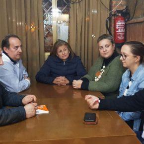 Cs Casarrubios del Monte se reúne con las asociaciones Princesa Isabel y Cultural Montenuevo