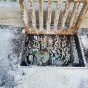 Cs Camarena denuncia la falta de limpieza en rejillas y alcantarillas del municipio