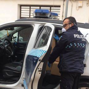 Cs Quintanar consigue 150 pantallas protectoras para cuidadores de las dos residencias de mayores